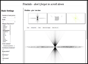 Click on me to see the interactive fractal website.